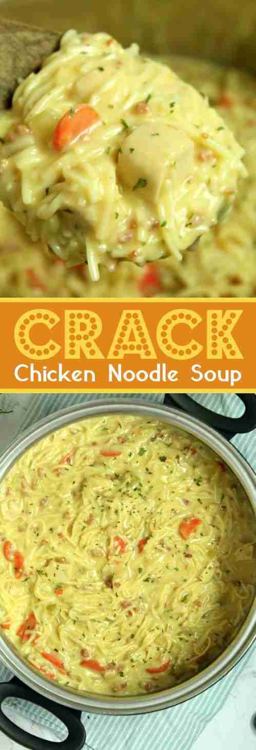 Easy Homemade Creamy Chicken Noodle Soup