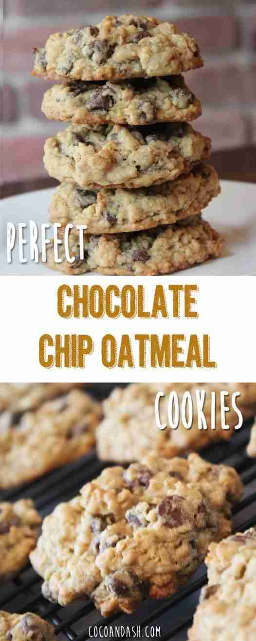 The Perfect Chocolate Chip Oatmeal Cookie
