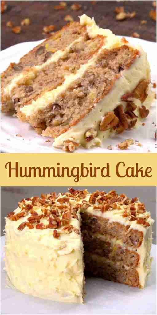 This Hummingbird Cake Recipe is the South's Favorite Cake
