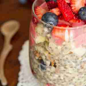 Simple Overnight Buckwheat Parfait