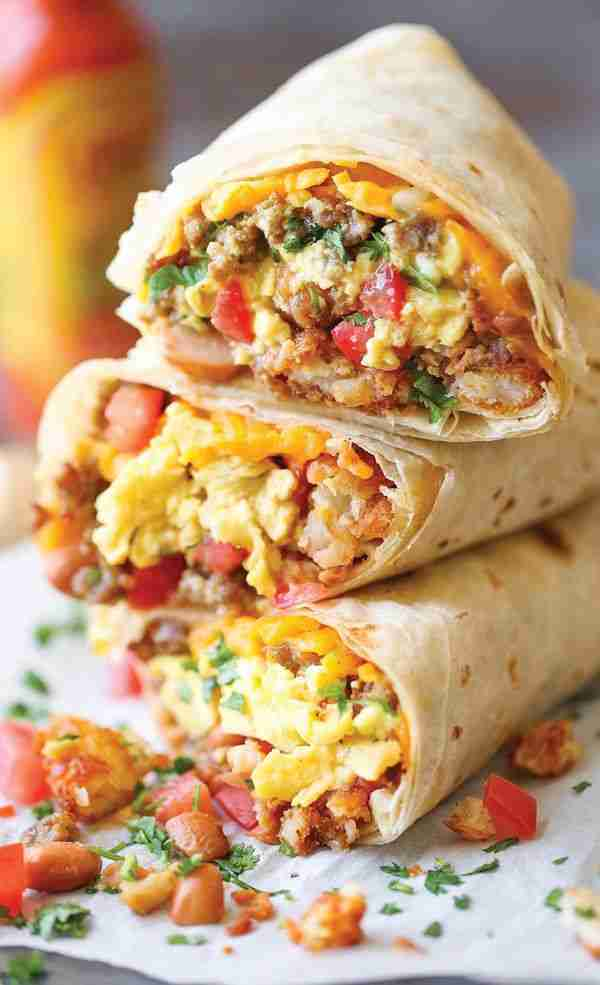 The Breakfast Burritos That'll Get You Out Of Bed
