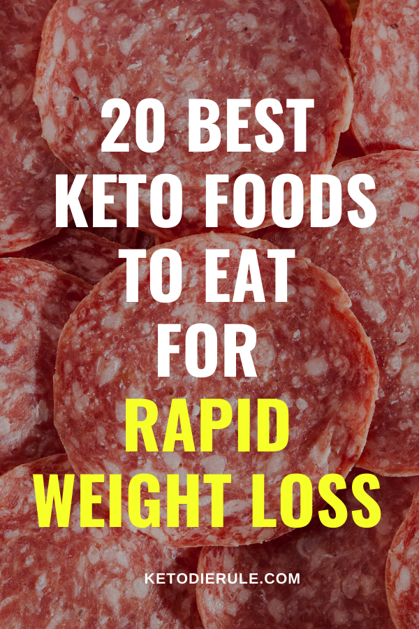 20 Keto Diet Foods That Fuel Fat Burn and Aid Weight Loss