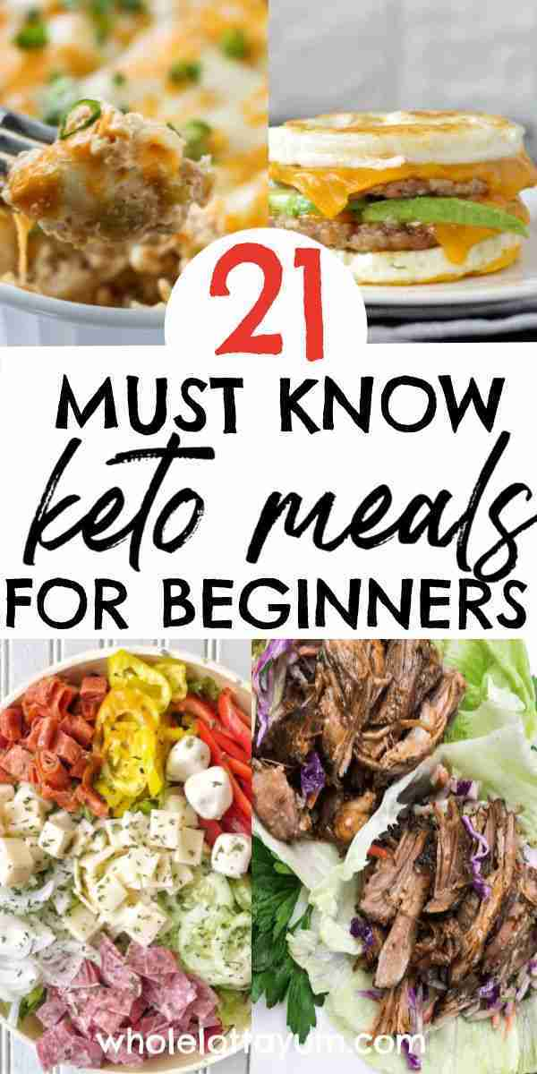 21 Easy Keto Recipes for Beginners