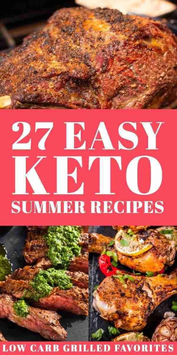 27 Keto Summer Recipes!