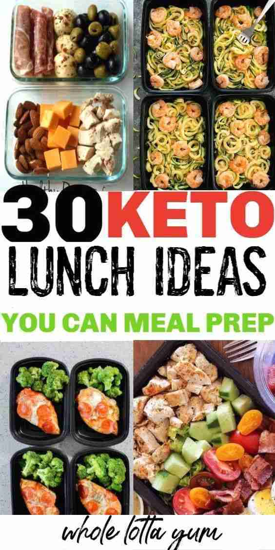 30 Keto Lunches to Meal Prep