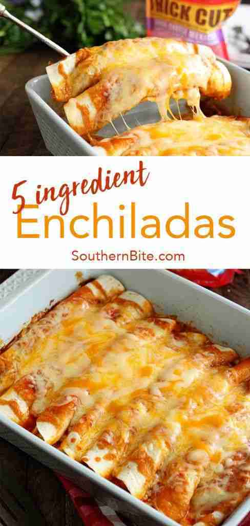 5 Ingredient Beef Enchiladas – Southern Bite