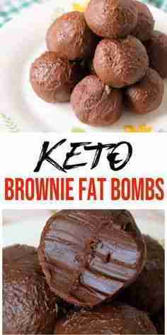 5 Ingredient Keto Brownie Fat Bombs – BEST Chocolate Brownie Fat Bombs – NO Bake – Easy NO Sugar Low Carb Recipe