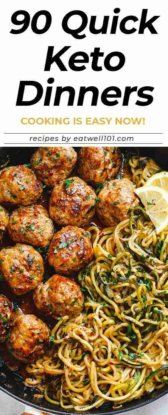 90+ Quick and Delicious Keto Dinner Recipe Ideas – Cooking is Easy Now!