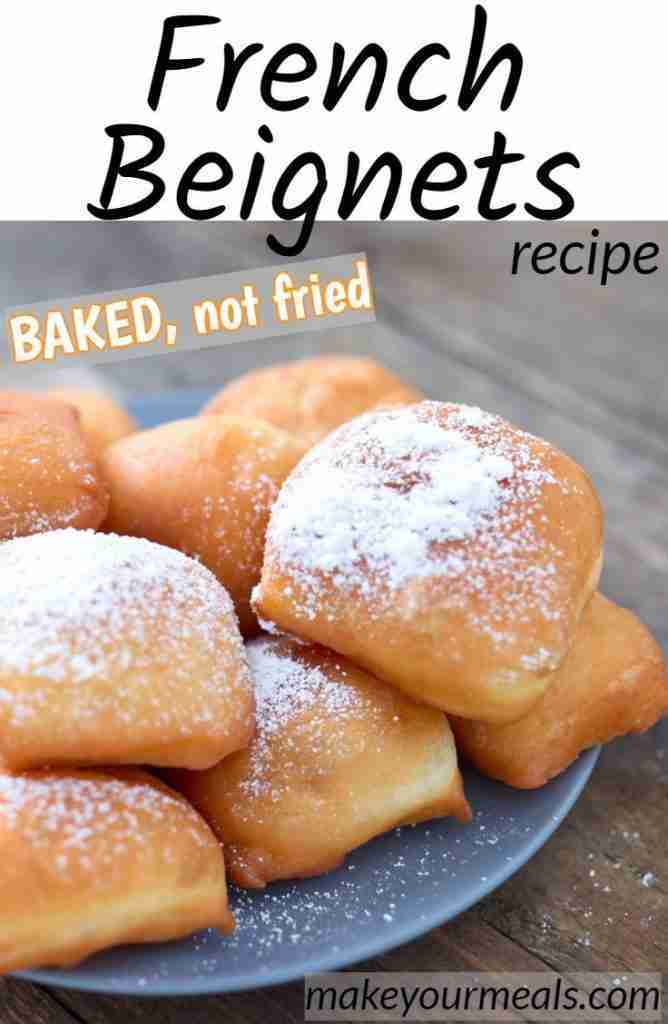 Baked Beignets Recipe – Classic French Quarter Donut Made Healthier