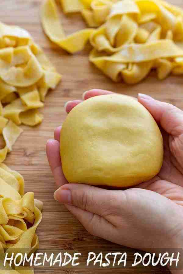 Easy Homemade Pasta Dough Recipe – Happy Foods Tube