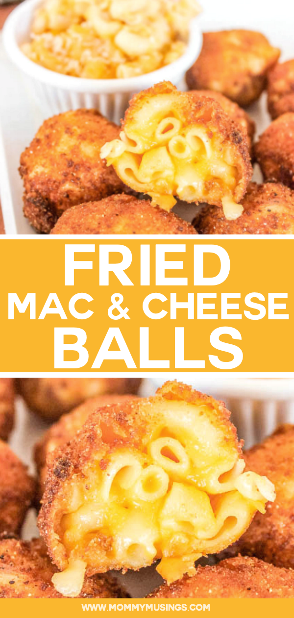 Fried Mac and Cheese Bites | Mommy Musings