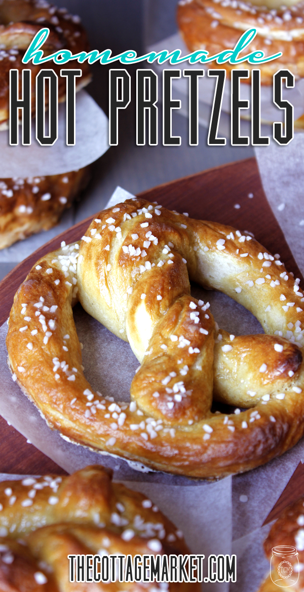 Home Made Hot Soft Pretzels oh so EASY!!! – The Cottage Market