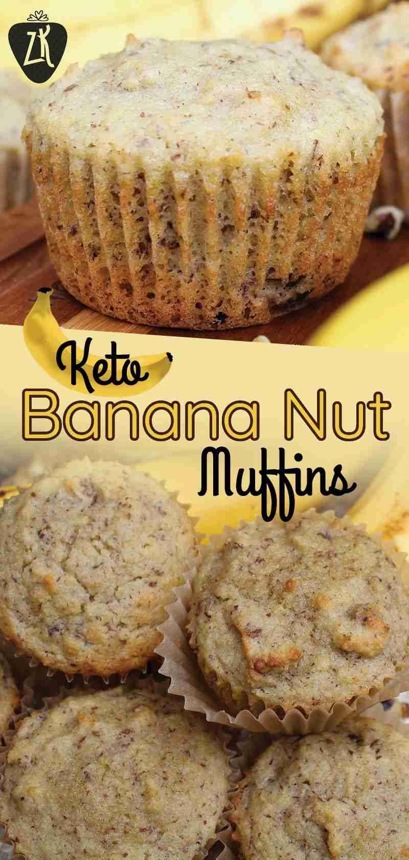 Keto Banana Nut Muffins   A Perfect Breakfast Muffin – Zenberry Keto