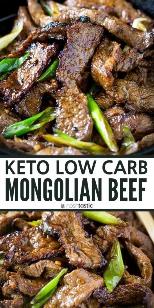 Keto Mongolian Beef Recipe