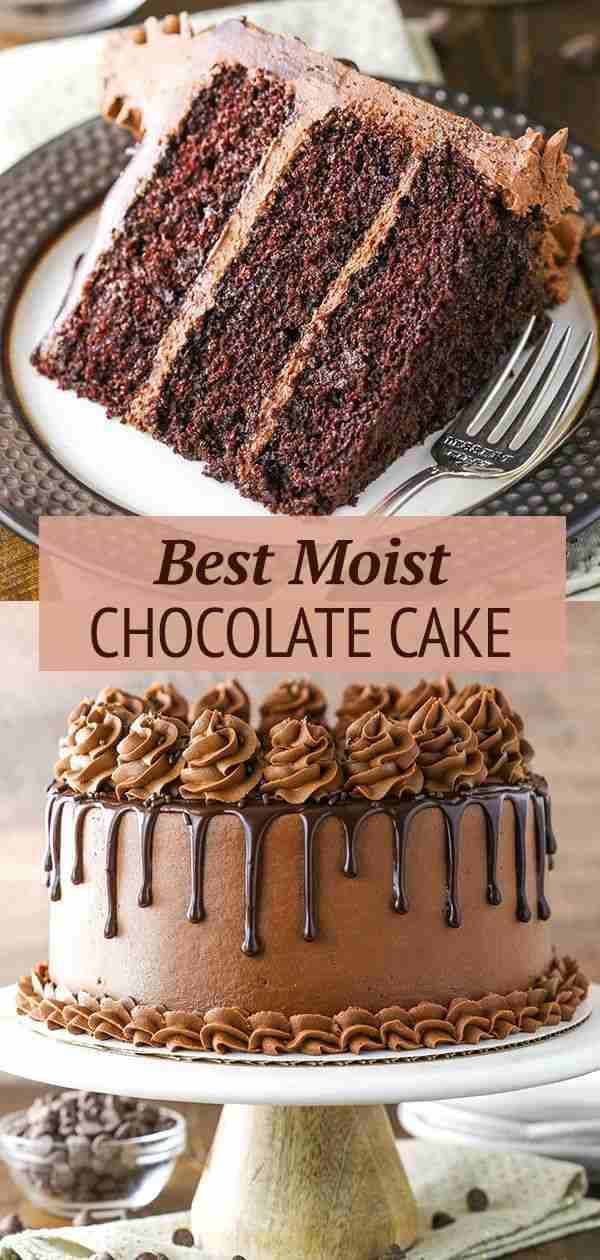 The BEST Chocolate Cake Recipe | Moist Chocolate Cake Recipe