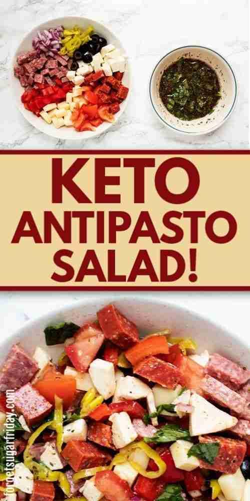 YUMMY Keto Antipasto Salad!!
