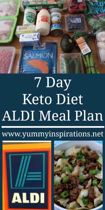 7 Day Keto Diet ALDI Meal Plan Video