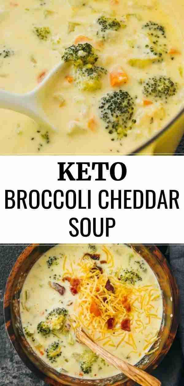 Easy Broccoli Cheddar Soup with Bacon – Savory Tooth