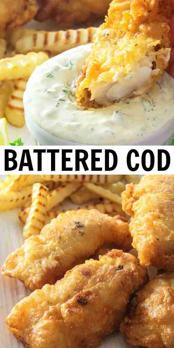 Homemade Beer Battered Cod – Simply Home Cooked