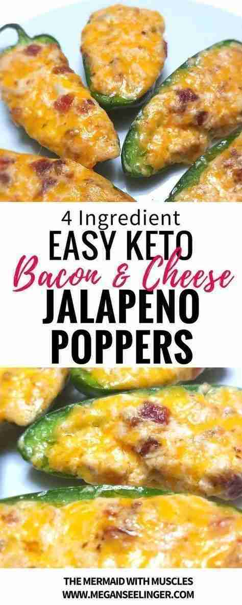 Keto Jalapeno Poppers Savory Fat Bombs