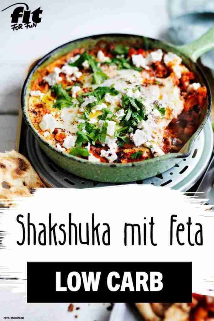Shakshuka mit Feta Rezept – FIT FOR FUN