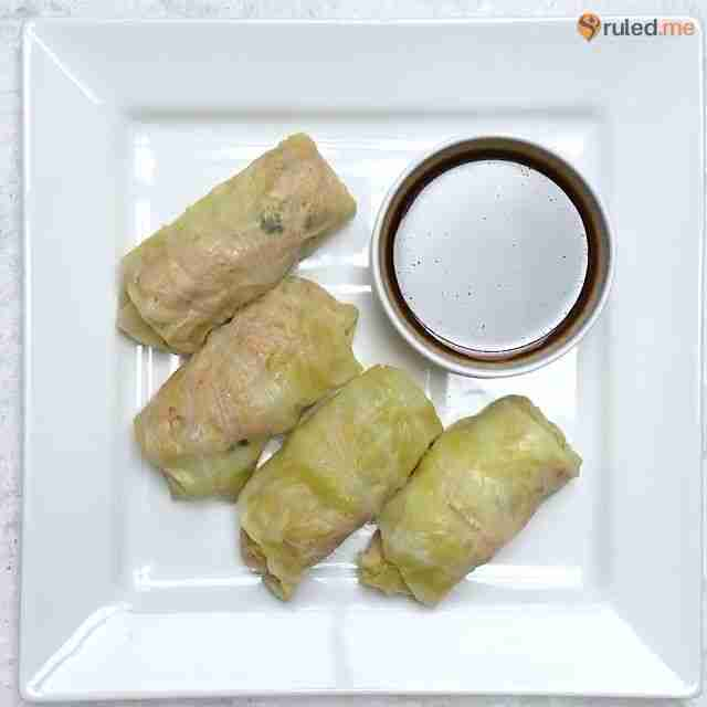 Steamed Cabbage Rolls