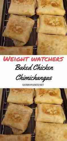 weight watchers chimichangas