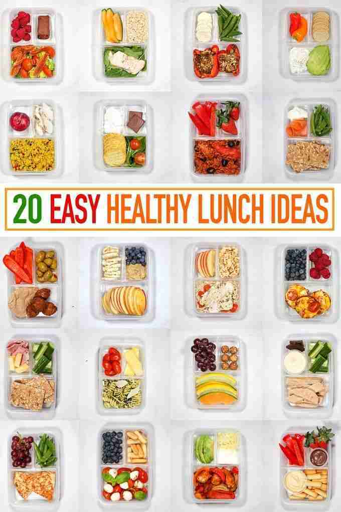 20 Healthy Packed Lunch Ideas – Recipes for Quick Lunches to Go!