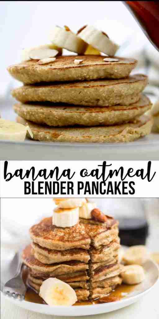 Banana Oatmeal Pancakes | What Molly Made