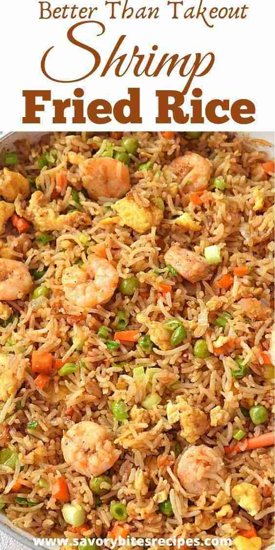 Better Than Takeout Shrimp Fried Rice!