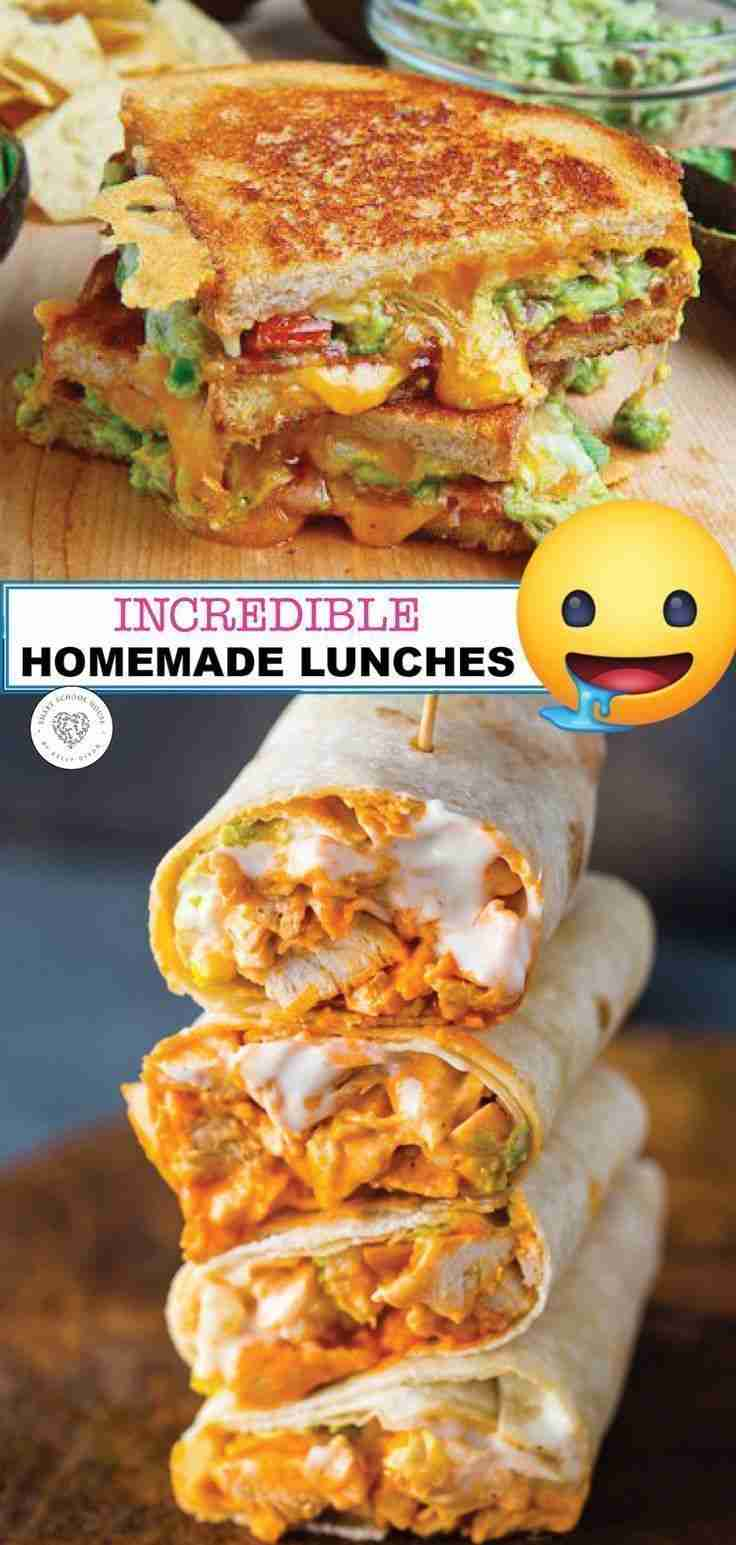 Delicious Homemade Lunch Ideas