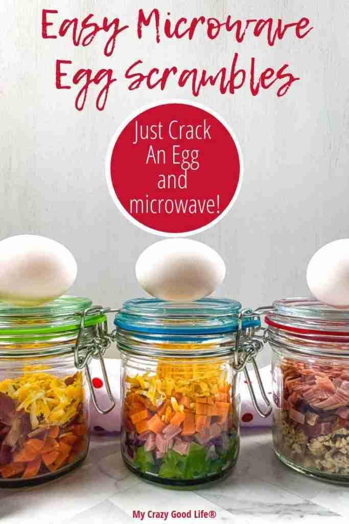 Easy Egg Scrambles   Just Crack an Egg Copycat Recipe