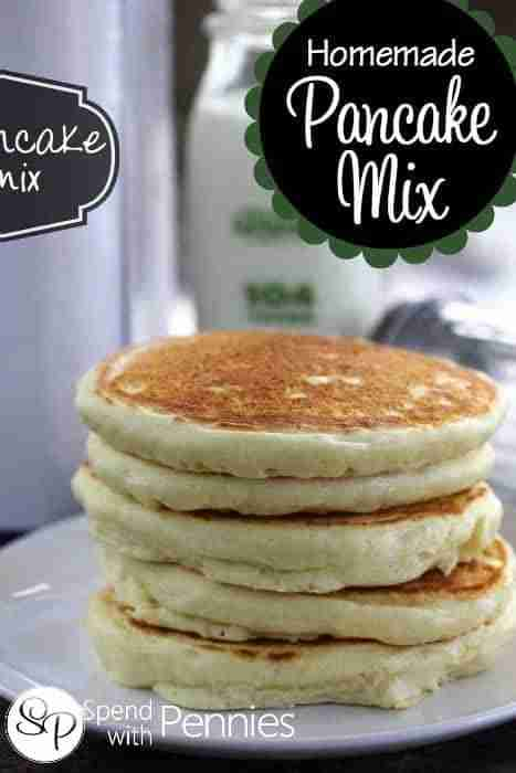 Homemade Pancake Mix Recipe {So Easy!} – Spend with Pennies