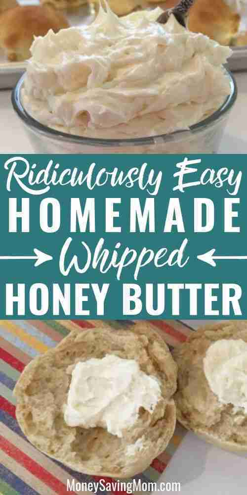 Homemade Whipped Honey Butter | Money Saving Mom®