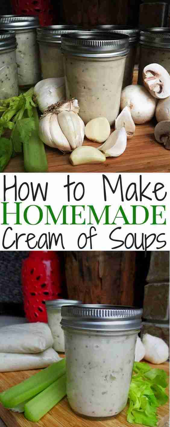 "How to Save Money Making Your Own ""Cream of"" Soups"