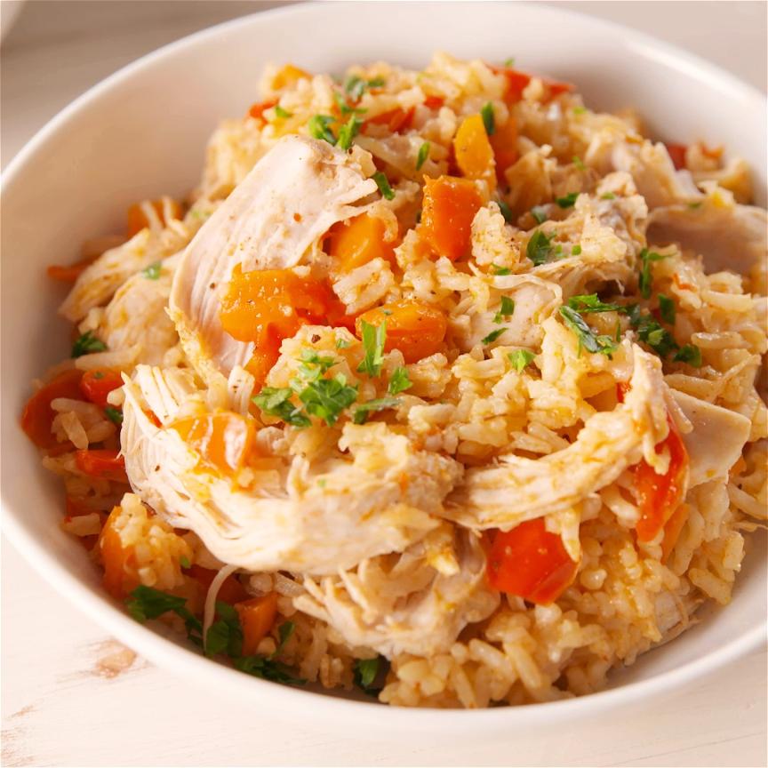 Instant Pot Chicken & Rice Is A One-Pot Wonder