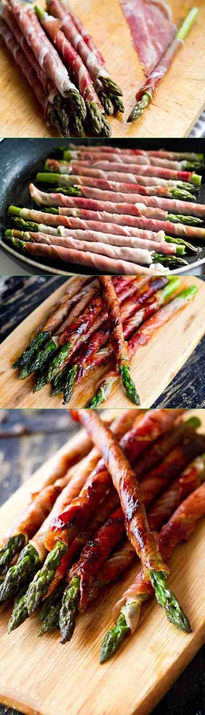 Prosciutto Wrapped Asparagus – Damn Delicious