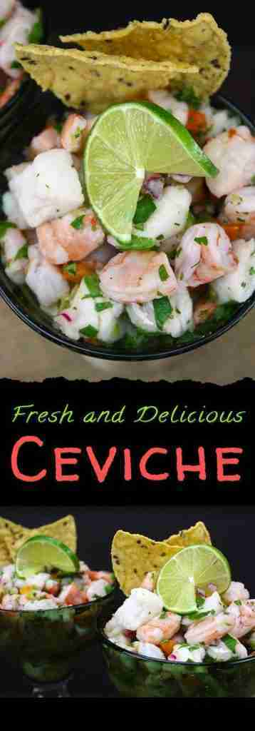 Quick and Easy Ceviche