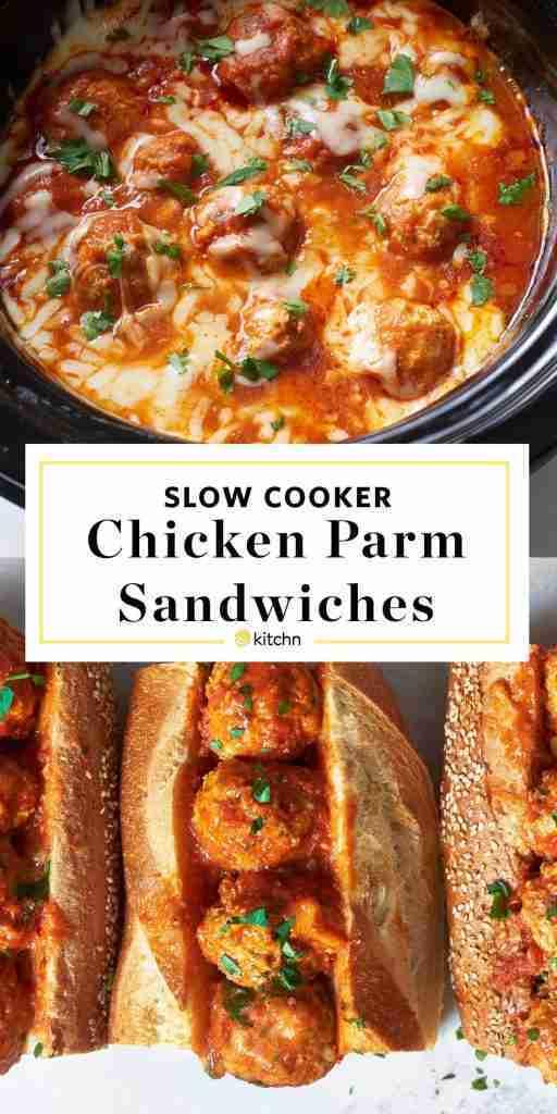 Recipe: Slow Cooker Chicken Parm Meatballs
