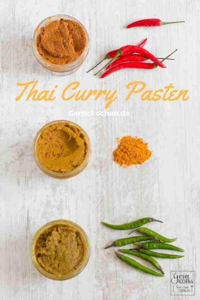 Rezept: Selbstgemachte Thaicurrypaste: Rot, gelb, grün – gernekochen.de