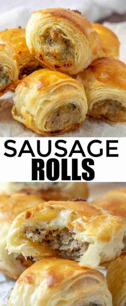 Sausage Rolls – An Easy Fun Party Appetizer!
