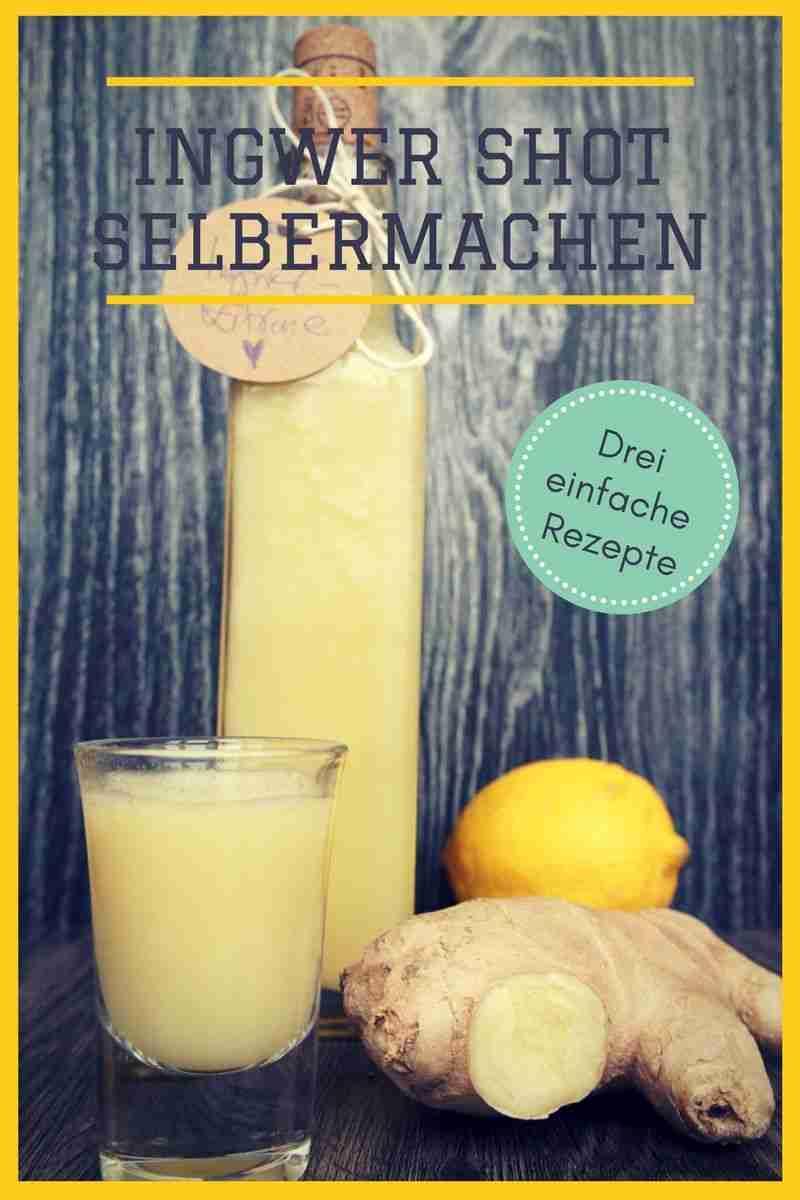 Schnelle Ingwer Shot Rezepte: 3 genial-einfache Ideen zum Selbermachen | Nicole Just – Vegane Rezepte – Vegan kochen leichtgemacht