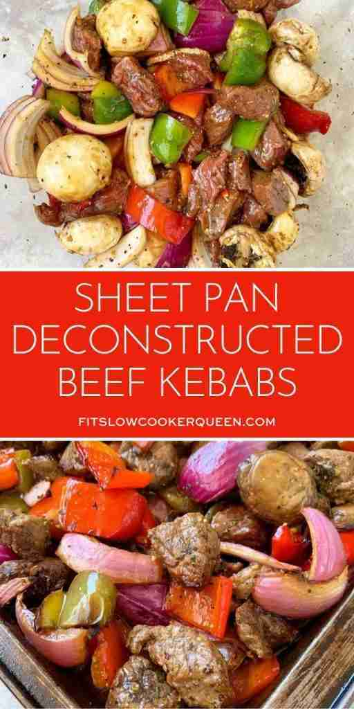 Sheet Pan Deconstructed Beef Kebabs (Low-Carb, Paleo, Whole30) – Fit Slow Cooker Queen