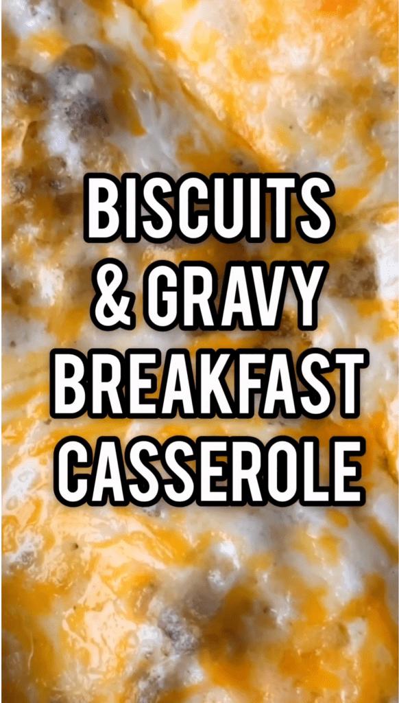 Southern Country style Breakfast Casserole Recipe