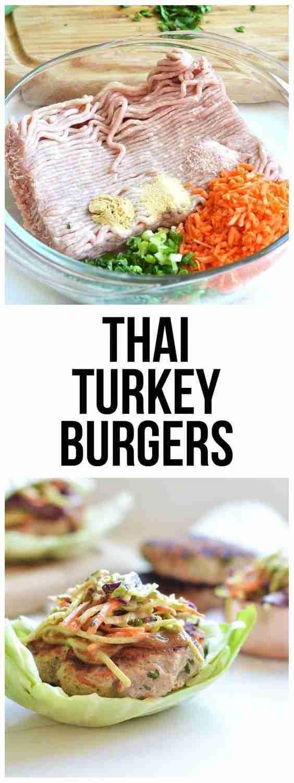 Thai Turkey Burgers – Little Bits Of Real Food