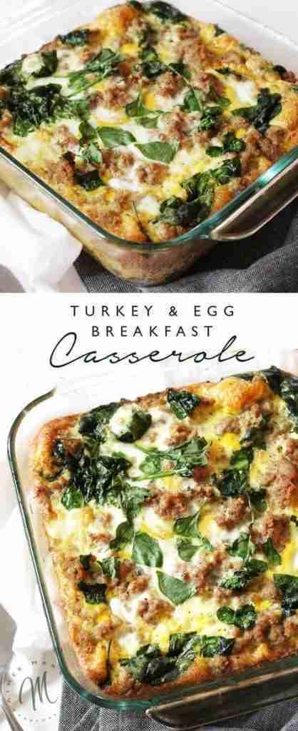 Turkey and Egg Breakfast Casserole   Aimee Mars