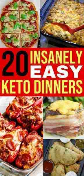 20 Easy Keto Dinner Recipes For Your Low Carb Diet – Savvy Honey