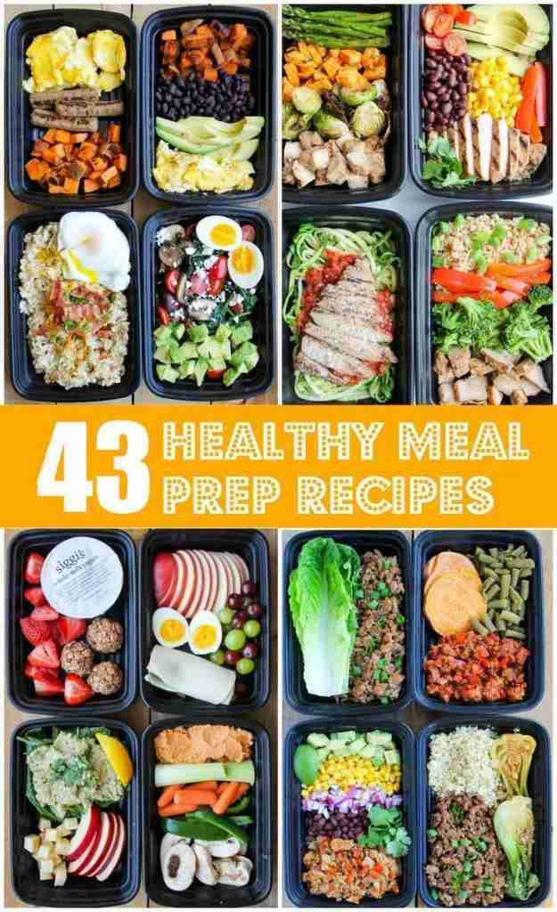 43 Healthy Meal Prep Recipes That'll Make Your Life Easier – Smile Sandwich