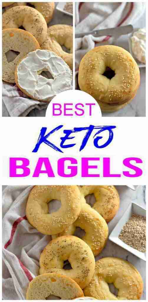 5 Ingredient Keto Bagels! BEST Low Carb Fathead Dough Bagel Idea – Quick & Easy Ketogenic Diet Recipe – Completely Keto Friendly – Gluten Free