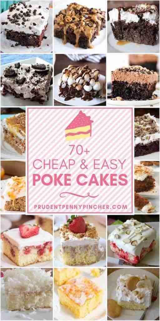 70 Cheap and Easy Poke Cake Recipes